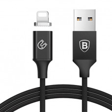 Baseus Insnap series magnetic cable For Lightning 1.2M Black (CALNP-01)
