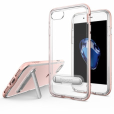 Spigen iPhone 7 Case Crystal Hybrid Rose Gold