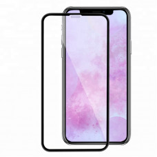 Защитное стекло Full Glass 5D for iPhone X 5.8 Black no packing