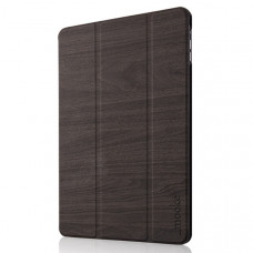 Mock Wooden Case Apple iPad Air Dark Grey